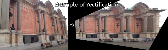 Example of rectification