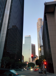 Downtown L.A. skyscrapers input
